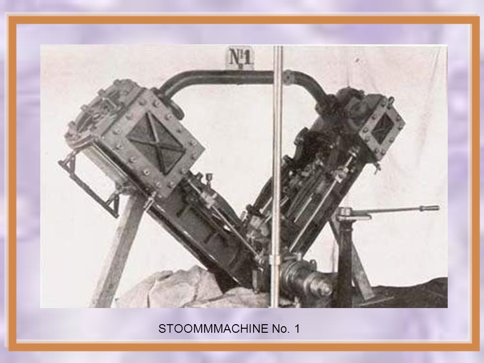 STOOMMMACHINE No. 1