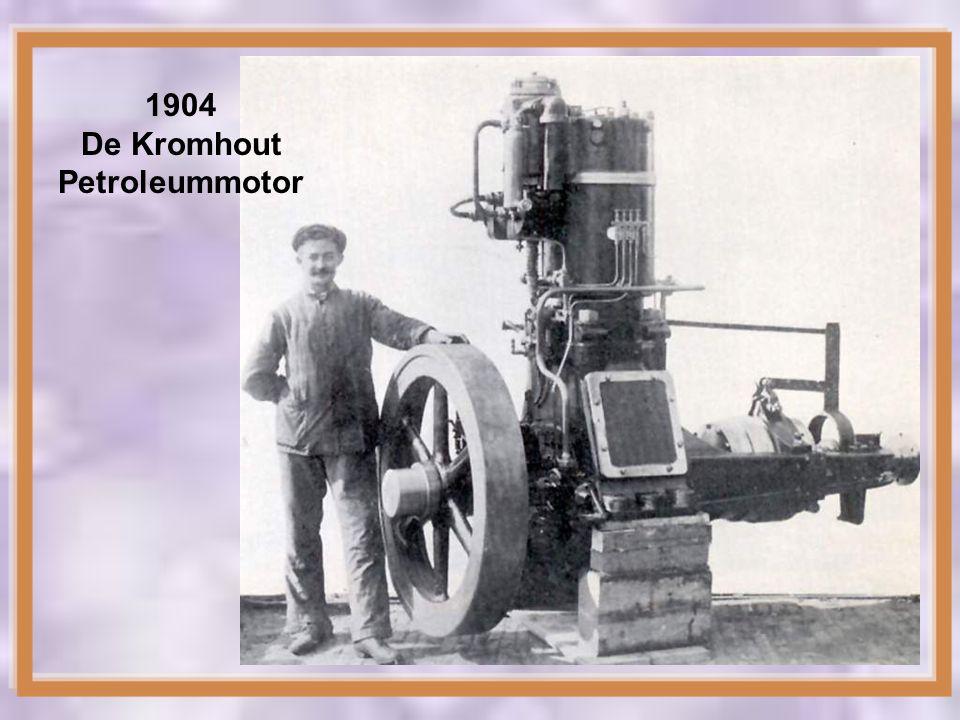 1904 De Kromhout Petroleummotor