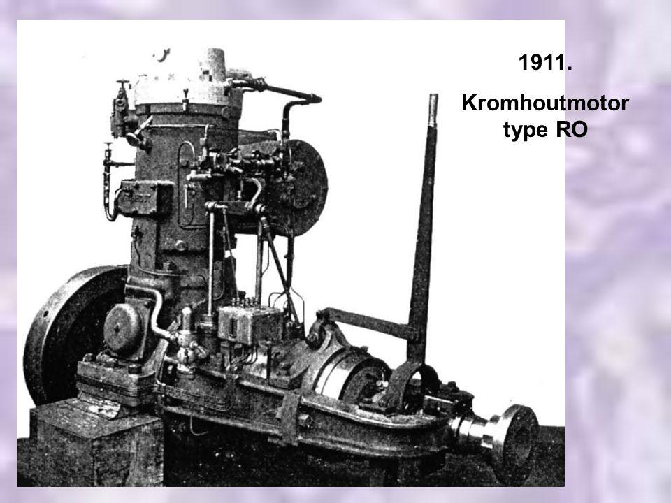 1911. Kromhoutmotor type RO