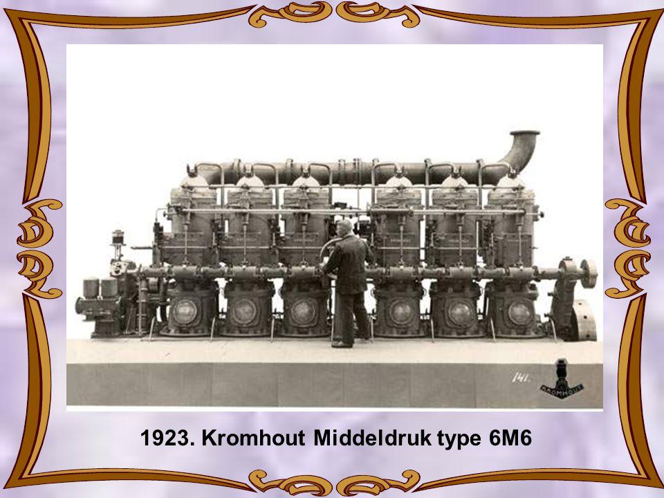 1923. Kromhout Middeldruk type 6M6