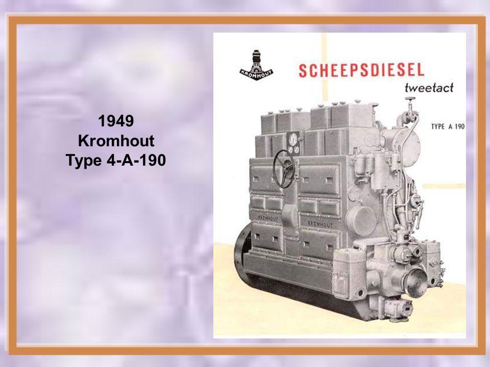 1949 Kromhout Type 4-A-190