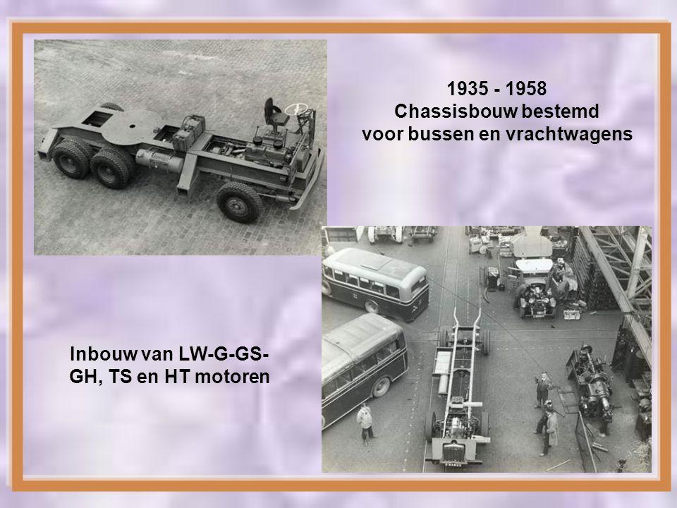 voor bussen en vrachtwagens Inbouw van LW-G-GS-GH, TS en HT motoren