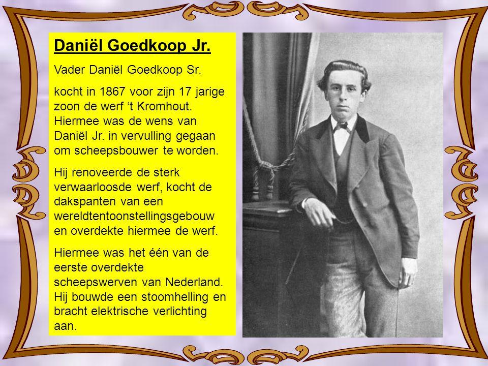 Daniël Goedkoop Jr. Vader Daniël Goedkoop Sr.