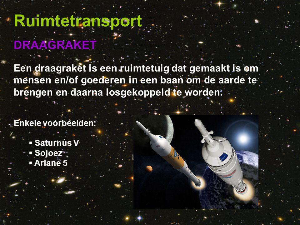 Ruimtetransport DRAAGRAKET