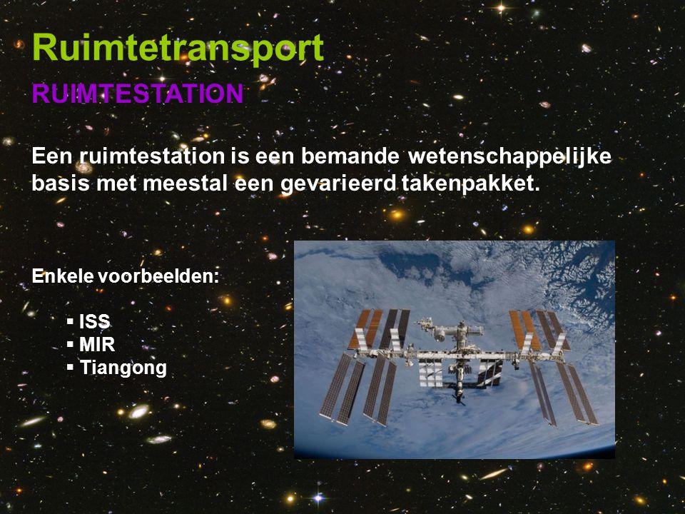 Ruimtetransport RUIMTESTATION