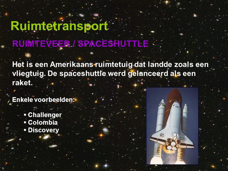 Ruimtetransport RUIMTEVEER / SPACESHUTTLE
