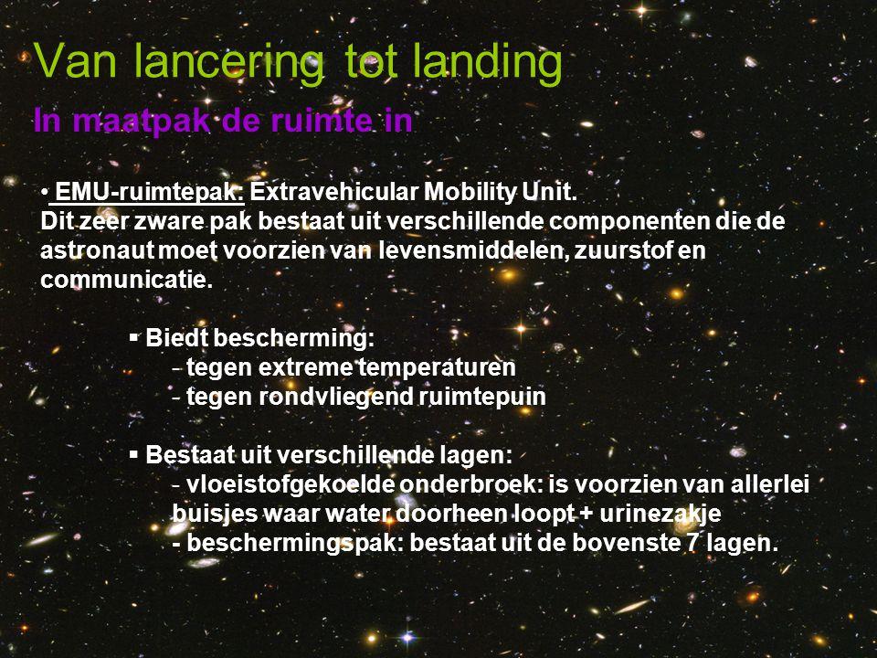 Van lancering tot landing