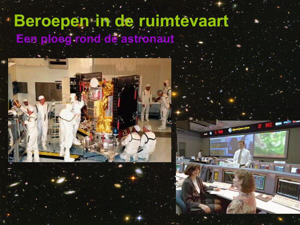 Beroepen in de ruimtevaart