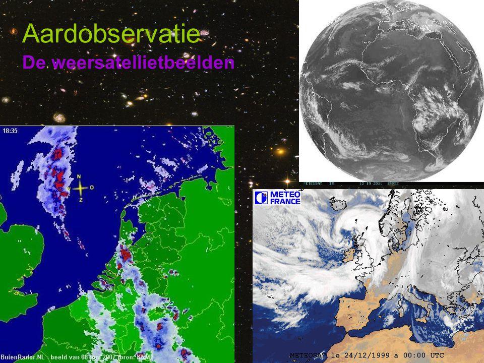 Aardobservatie De weersatellietbeelden