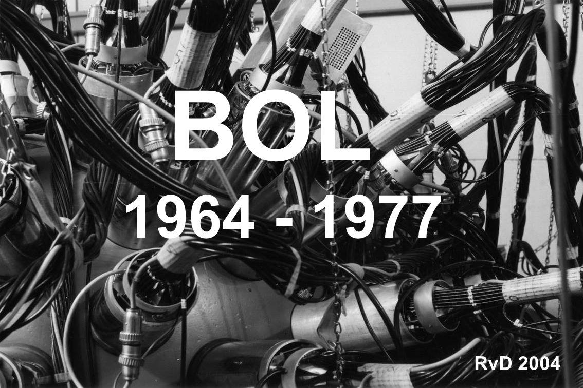 Omstreeks 1964 werd de aanzet