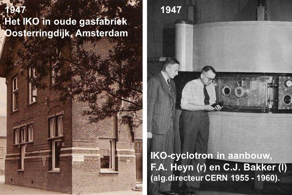 IKO synchrocyclotron, maquette 1949