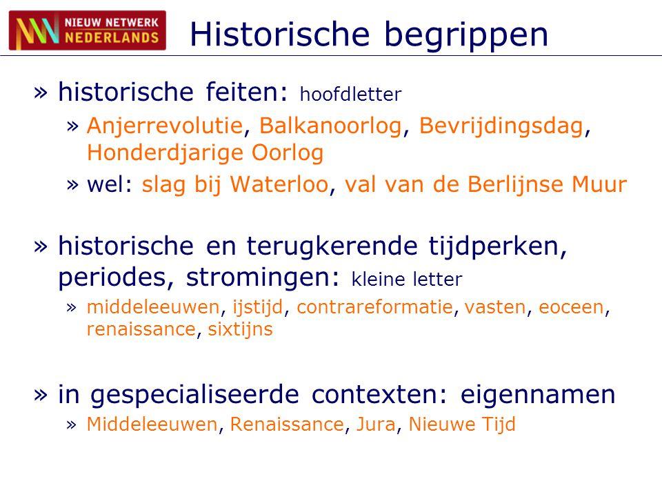 Historische begrippen