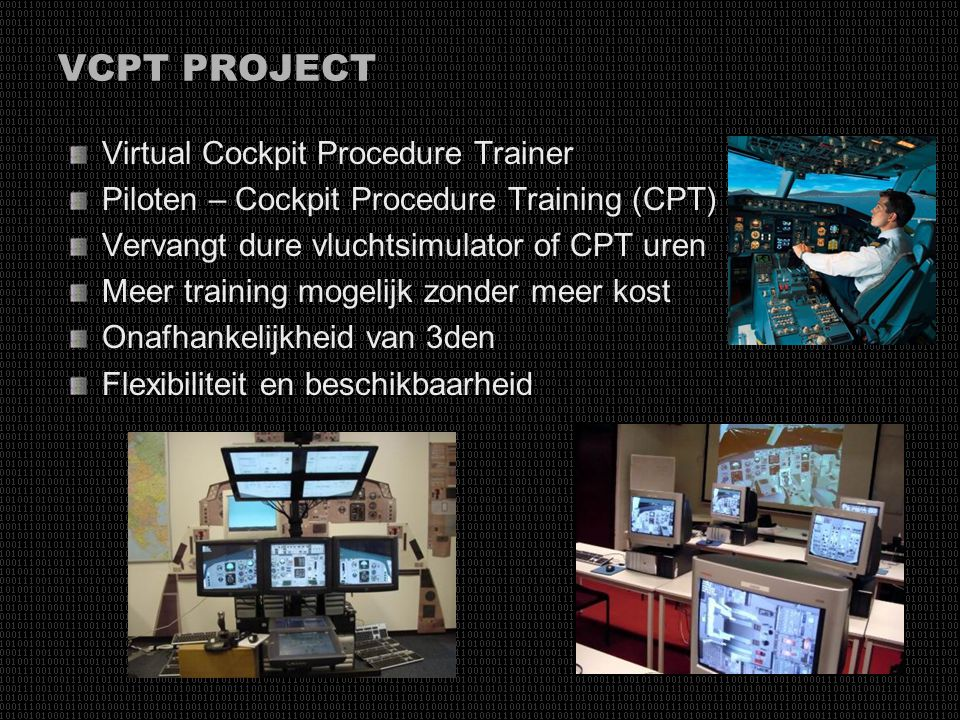 VCPT PROJECT Virtual Cockpit Procedure Trainer