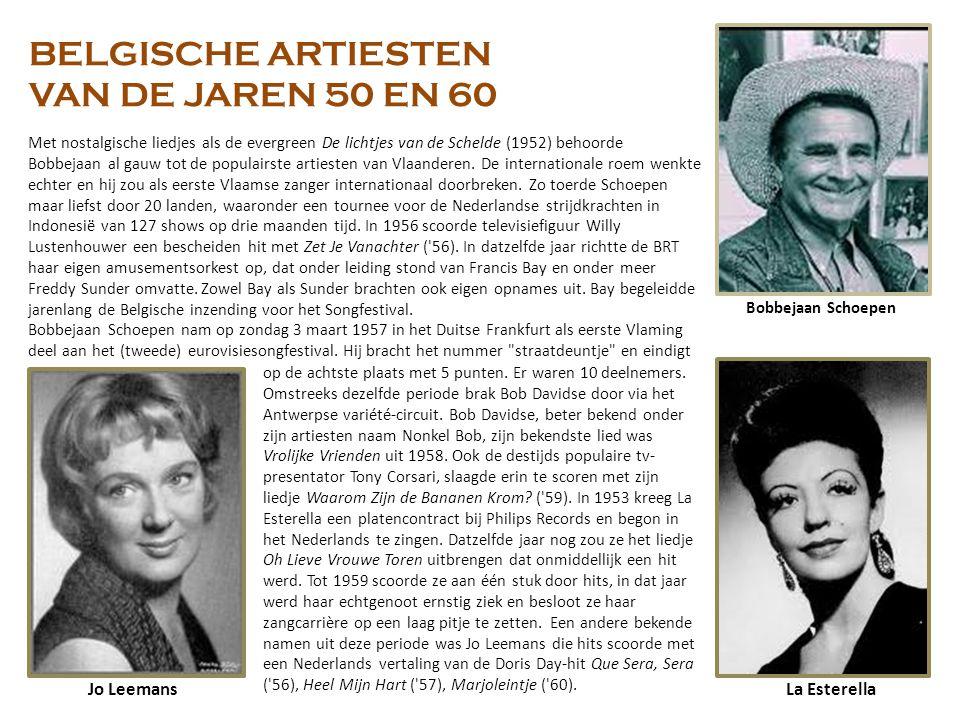 BELGISCHE ARTIESTEN VAN DE JAREN 50 EN 60 Jo Leemans La Esterella