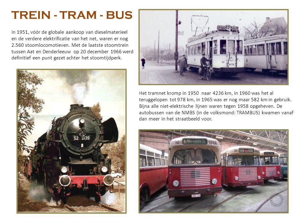 TREIN - TRAM - BUS