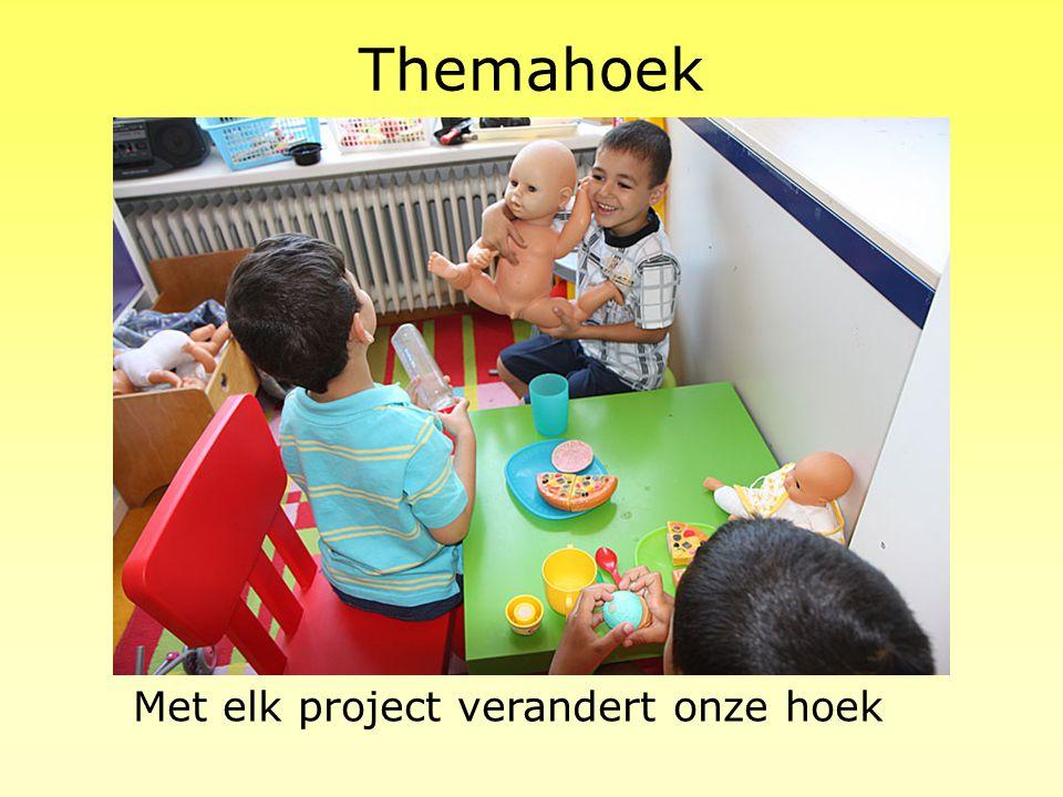 Themahoek Met elk project verandert onze hoek