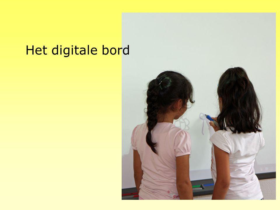 Het digitale bord