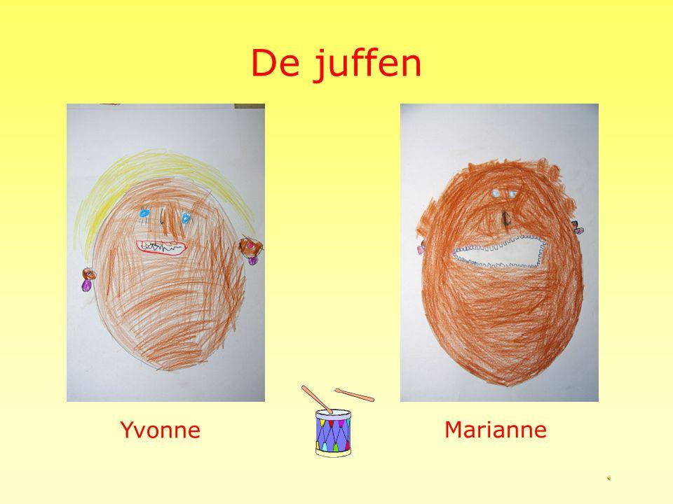 De juffen Yvonne Marianne