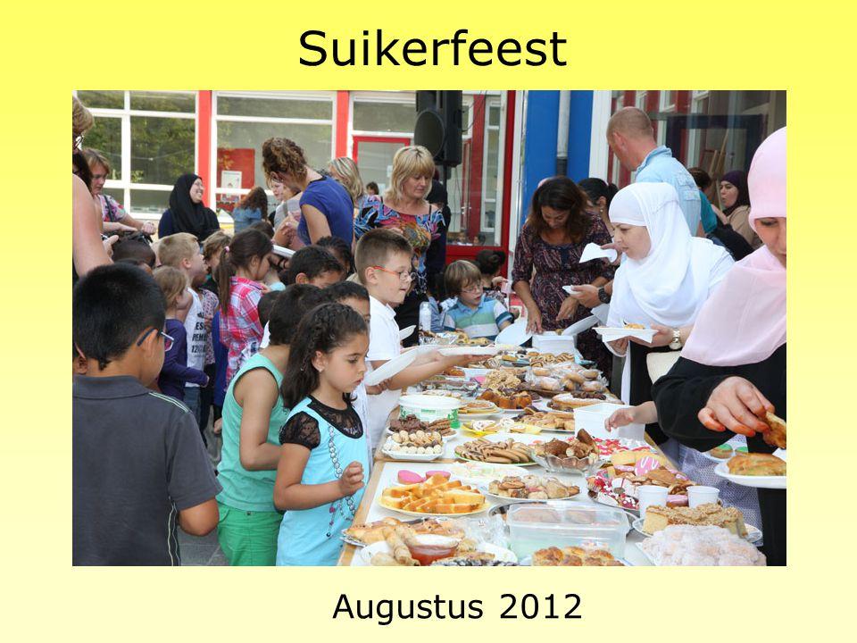 Suikerfeest Augustus 2012