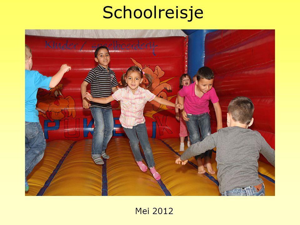 Schoolreisje Mei 2012