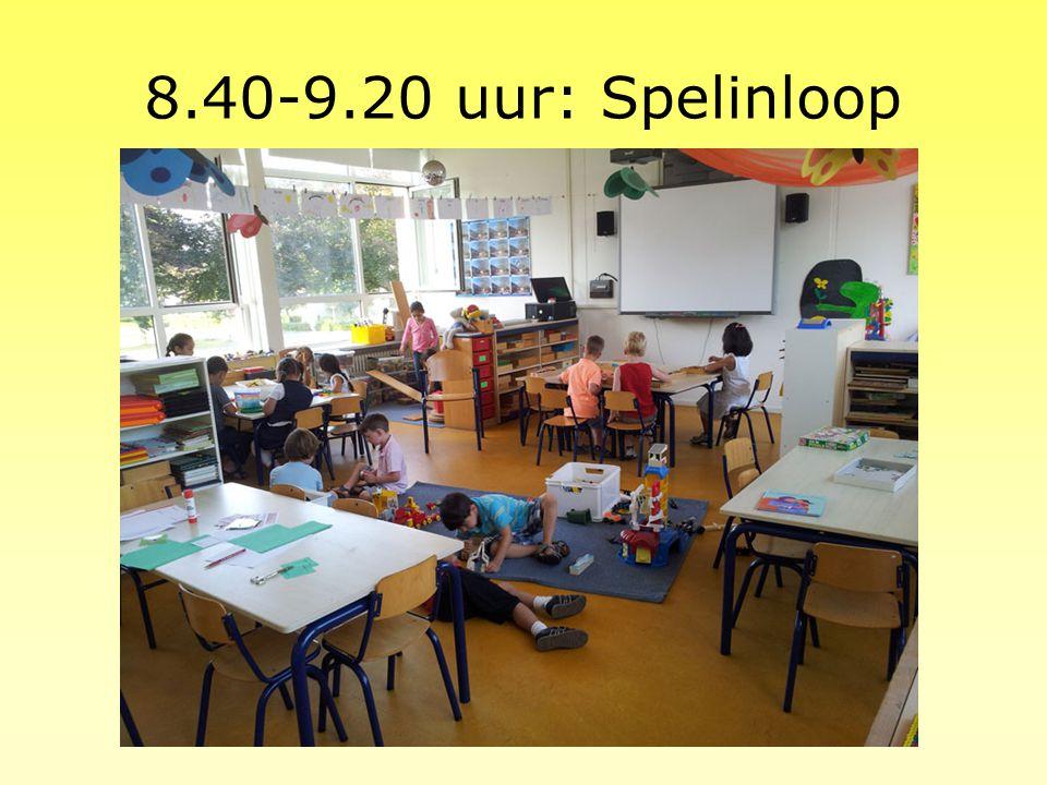 8.40-9.20 uur: Spelinloop