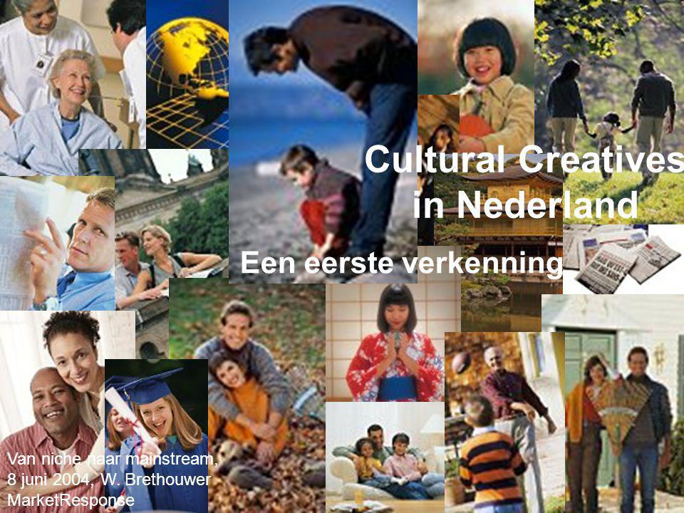 Cultural Creatives in Nederland