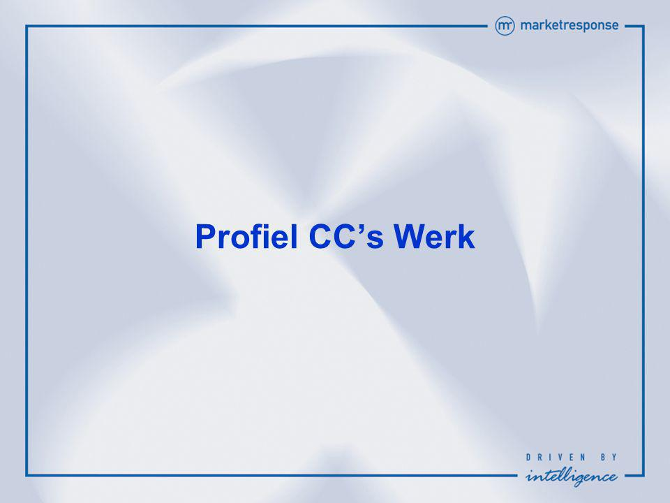 Profiel CC's Werk