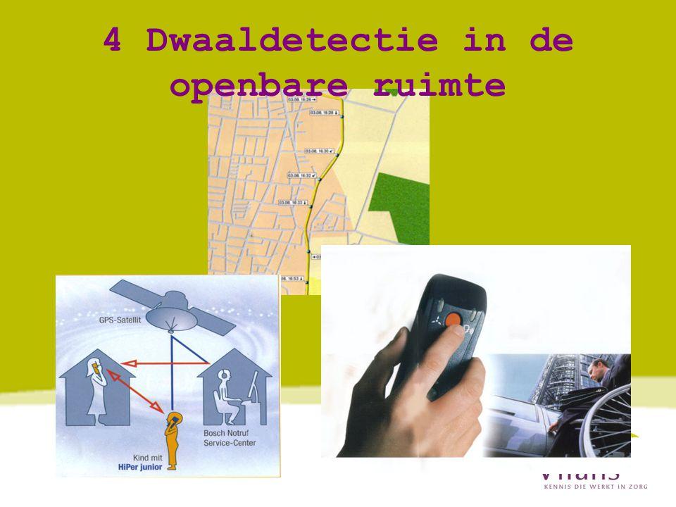 4 Dwaaldetectie in de openbare ruimte