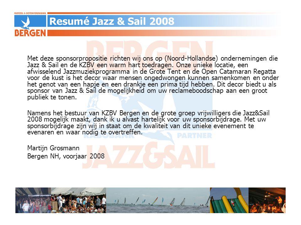 Resumé Jazz & Sail 2008