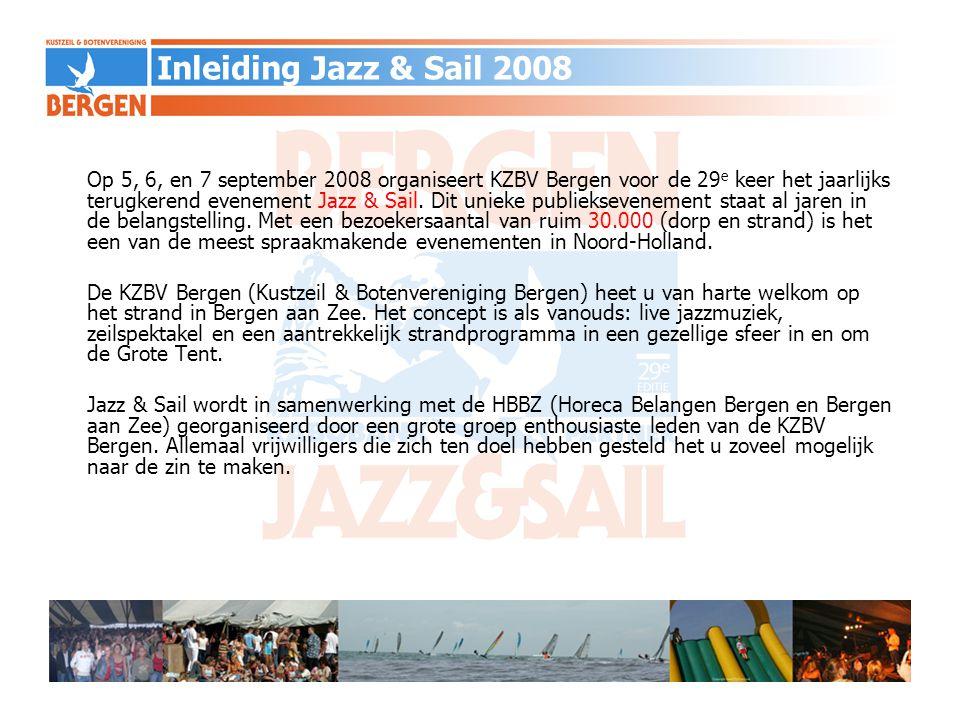 Inleiding Jazz & Sail 2008