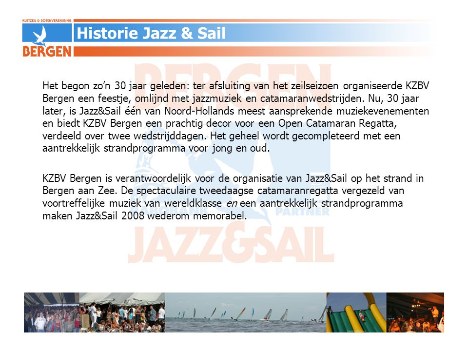 Historie Jazz & Sail