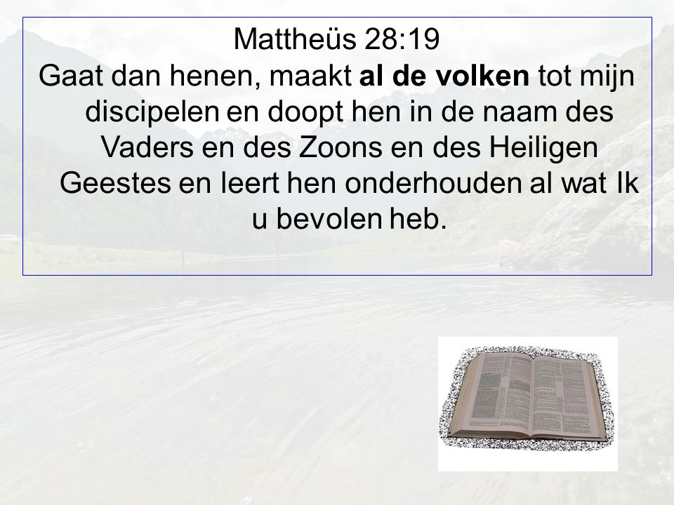 Mattheüs 28:19