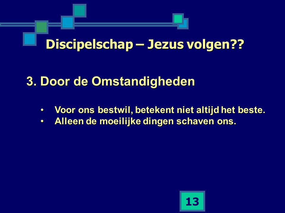 Discipelschap – Jezus volgen