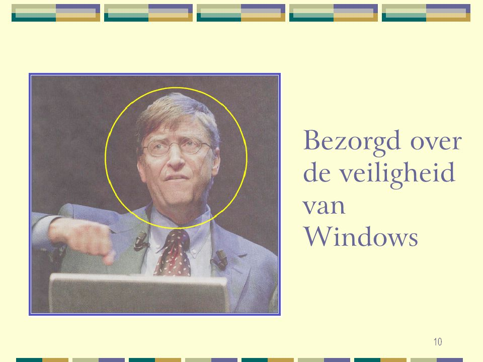 Bezorgd over de veiligheid van Windows
