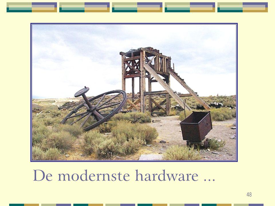 De modernste hardware ...