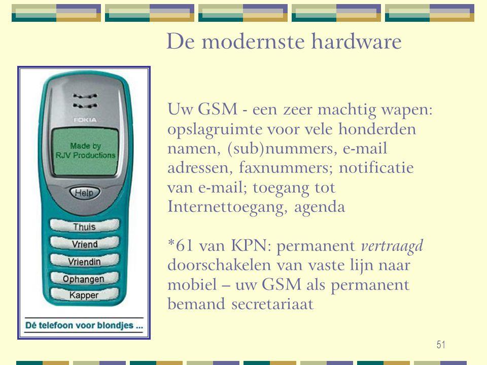 De modernste hardware