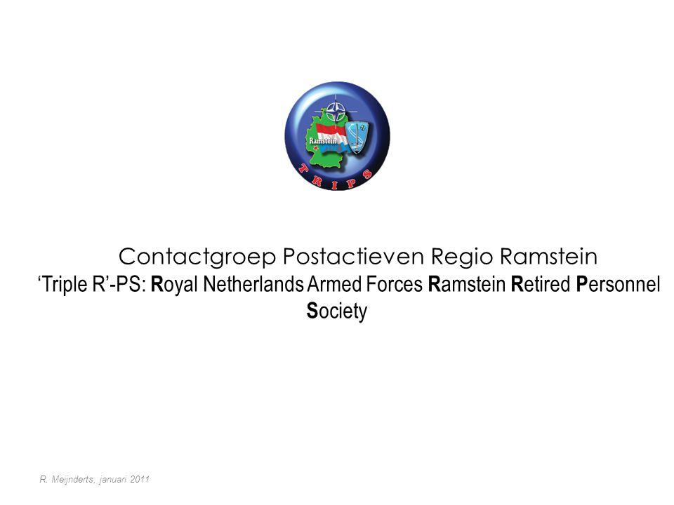 Contactgroep Postactieven Regio Ramstein