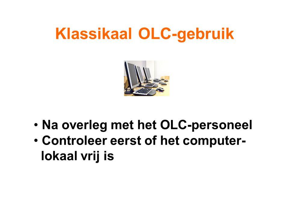 Klassikaal OLC-gebruik