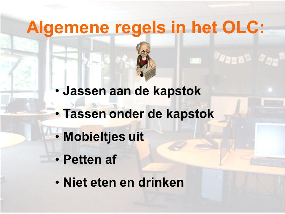 Algemene regels in het OLC: