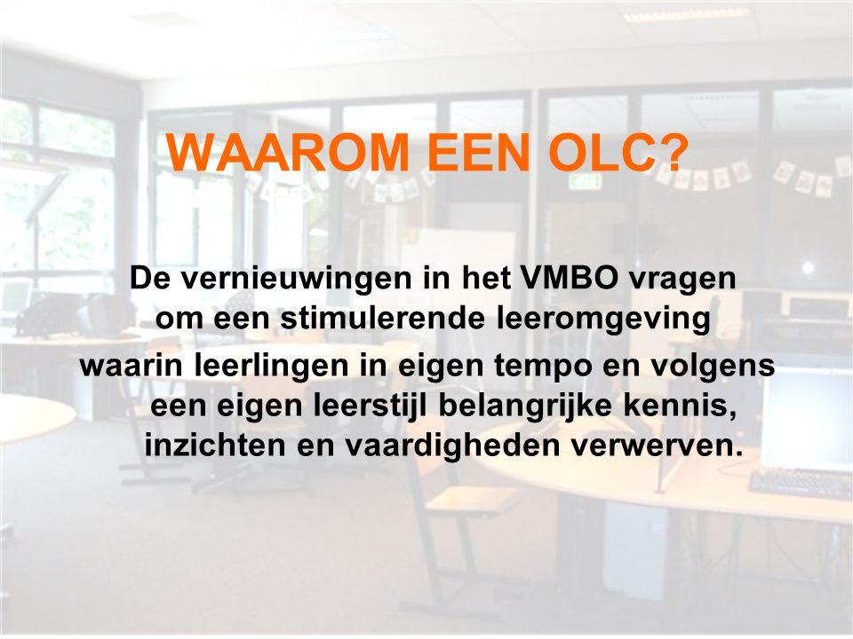 De vernieuwingen in het VMBO vragen om een stimulerende leeromgeving