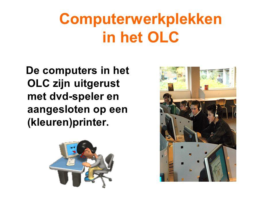 Computerwerkplekken in het OLC