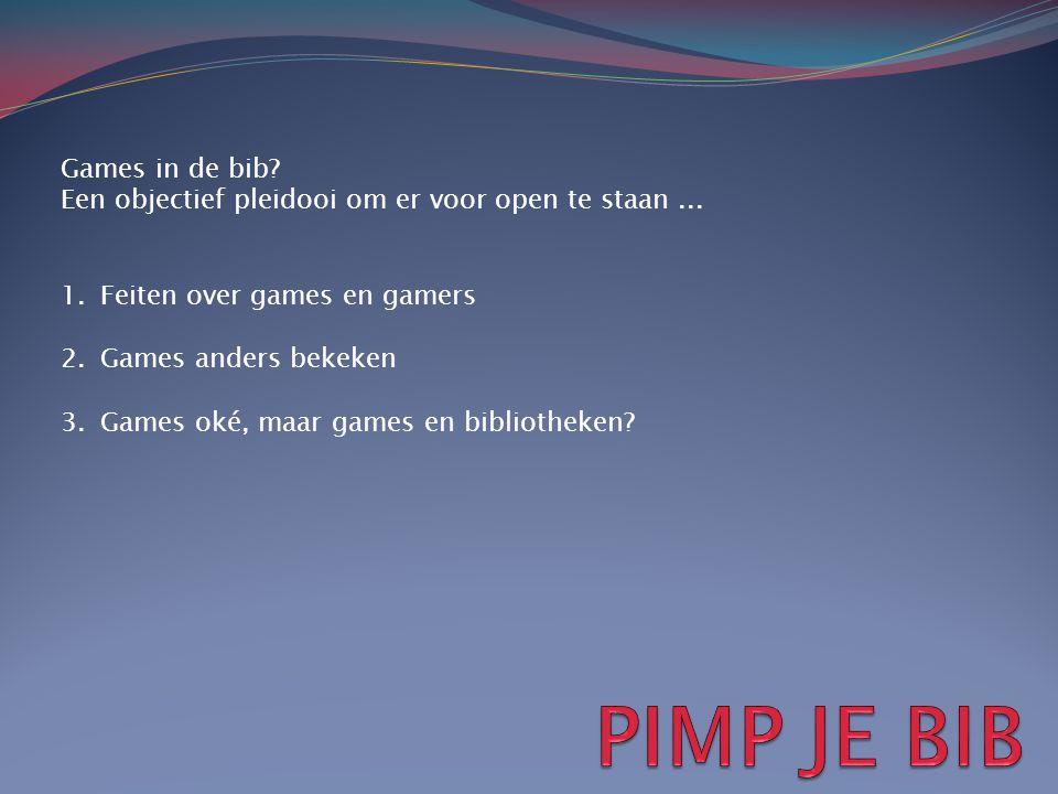 PIMP JE BIB Games in de bib
