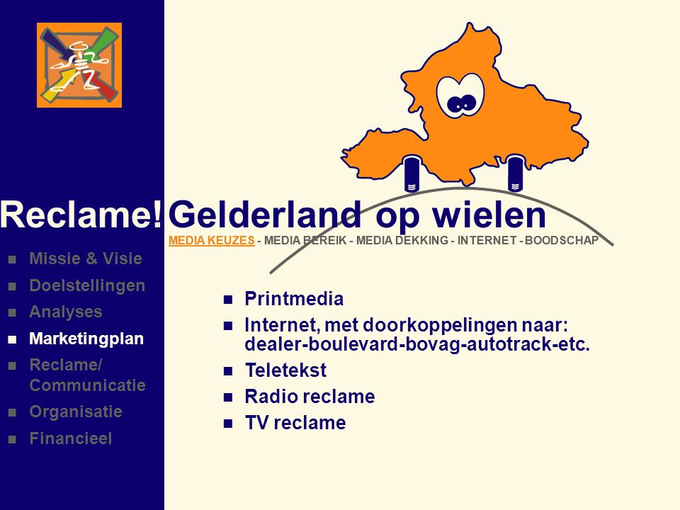 Reclame! Gelderland op wielen Printmedia