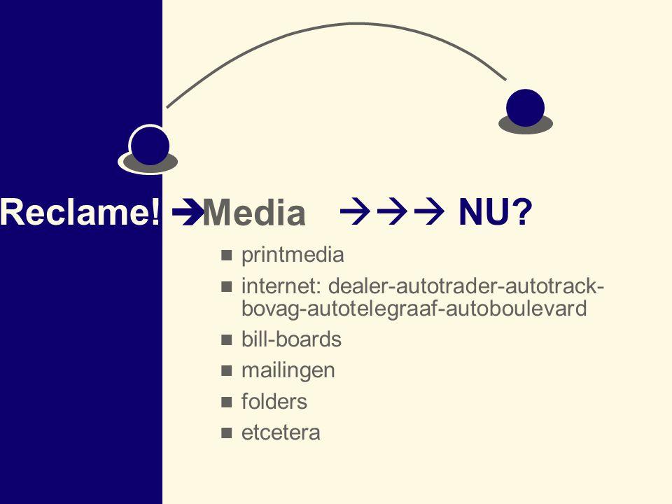 Reclame! Media  NU printmedia