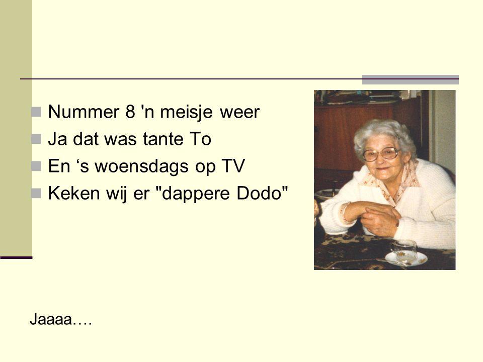 Keken wij er dappere Dodo
