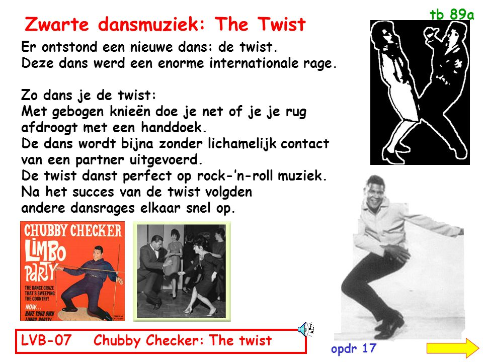 Zwarte dansmuziek: The Twist