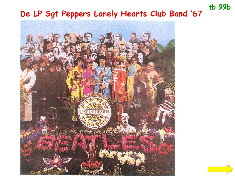 De LP Sgt Peppers Lonely Hearts Club Band '67