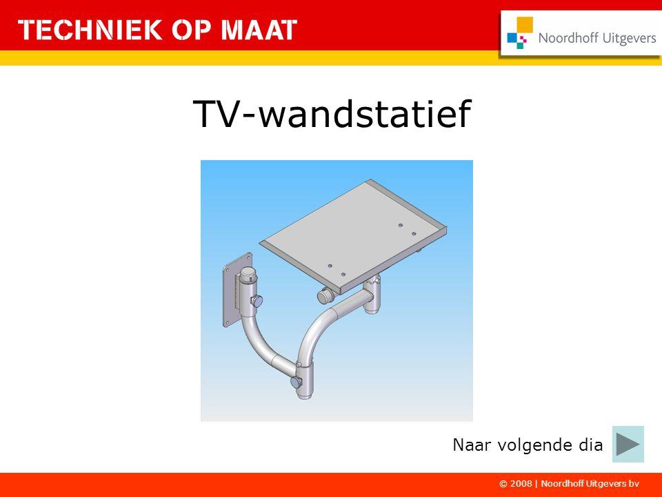 TV-wandstatief Naar volgende dia © 2008 | Noordhoff Uitgevers bv