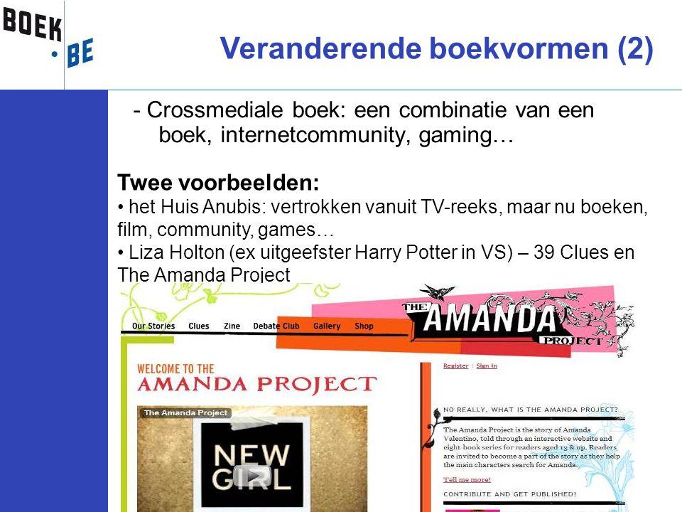 Veranderende boekvormen (2)