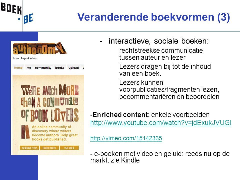 Veranderende boekvormen (3)